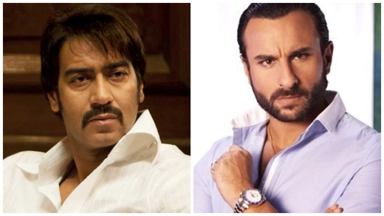 AJay Devgan and Saif Ali Khan