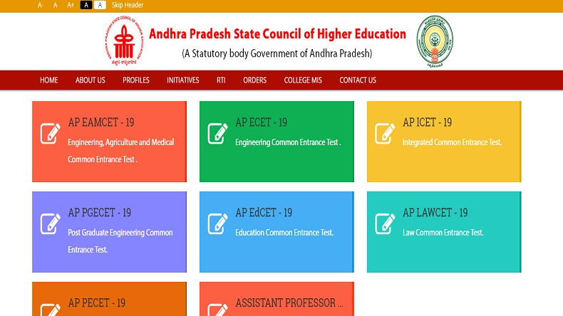 Andhra Pradesh ICET 2019 admit card, ICET 2019 admit card, APSCHE, sche.ap.gov.in, Andhra Pradesh State Council of Higher Education hall ticket, http://www.sche.ap.gov.in/icet, AP ICET 2019 exam date,