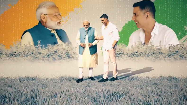 Actor Akshay Kumar's video interaction with PM Modi to be aired on Wednesday