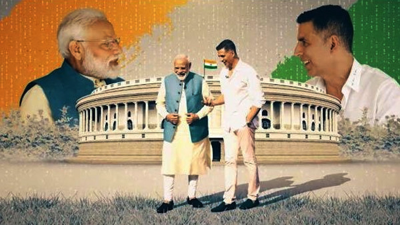 Modi-Akshay Kumar interaction