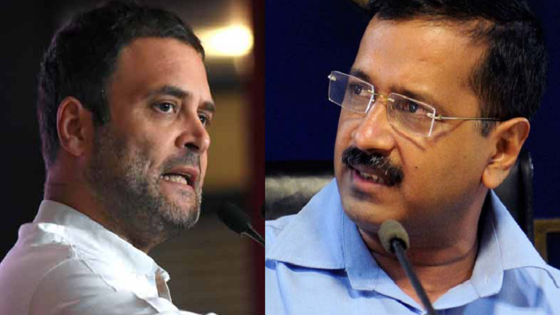 Rahul Gandhi, Arvind Kejriwal in twitter brawl after Congress-AAP talks blow up