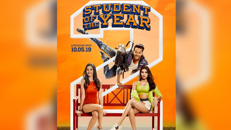 Student of the Year 2 new poster