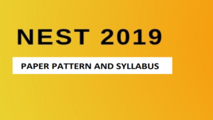 NEST 2019, NEST admit card 2019, nest 2109 hall tickets, nestexam.in, NEST 2019 Exam, NEST 2019 Exam dates time, NEST 2019 exam pattern, NEST 2019 Syllabus