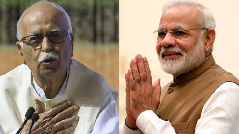 Lok Sabha Elections Results 2019: LK Advani hails Narendra Modi for leading BJP to victory