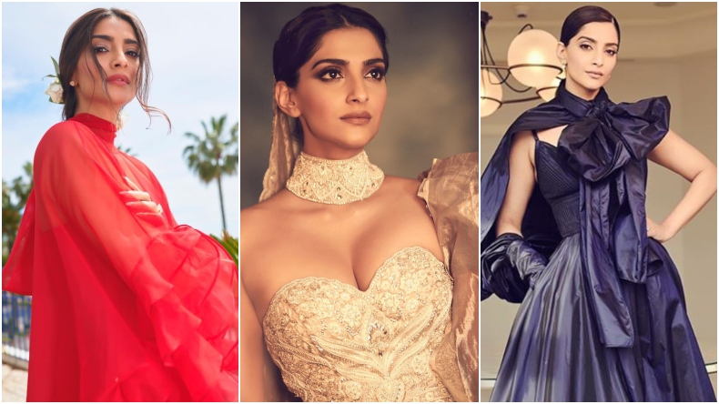 Cannes 2019: Sonam Kapoor is a true blue fashionista and these photos are proof!