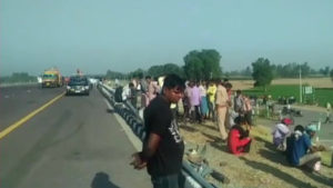 Unnao road accident, UP Police