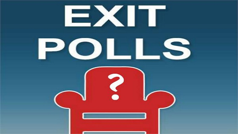 What are the results of Exit Polls in Telugu states?