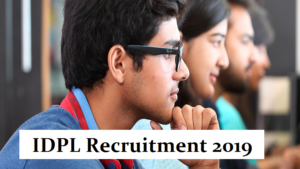 idpl jobs, idpl walk in interview, executive jobs, senior executive jobs, manager jobs, legal
