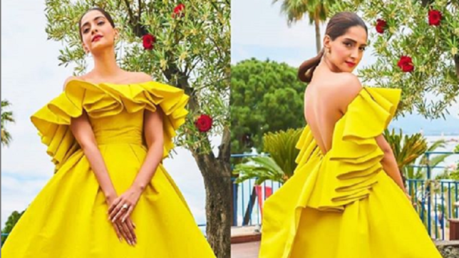 Cannes Film Festival 2019: Sonam Kapoor steals the show in yellow gown
