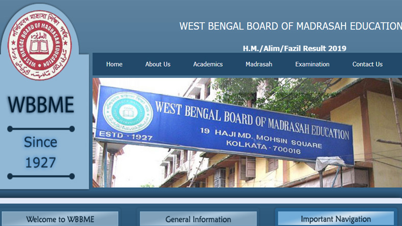 West Bengal Madrasah Class 10 result 2019, West Bengal Madrasah Class 12 results 2019, Websites to download West Bengal Madrasah class 10, 12 result, wbresults.nic.in, wbbme.org
