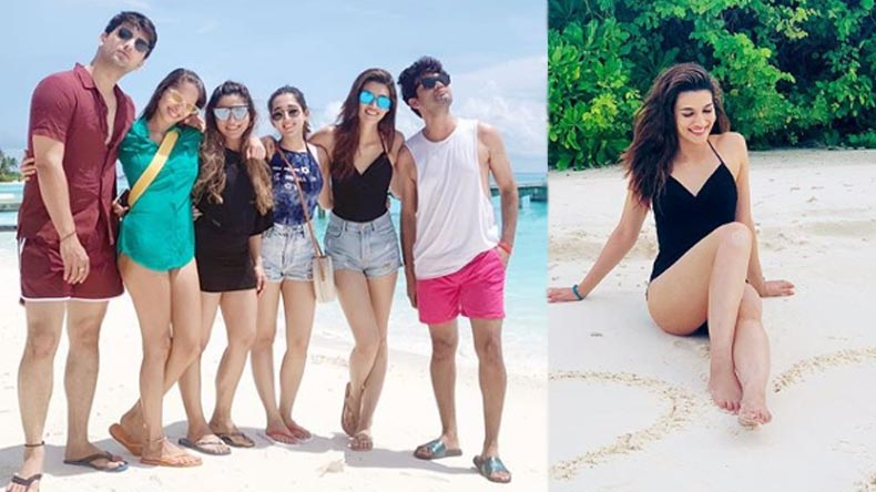 Kriti Sanon is living her vacation life in Maldives with her tribe