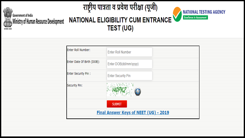 Neet Results 2019 Declared At Ntaneet Nic In Live Updates Rajasthan S Nalin Khandelwal Tops All India Rank With 99 99 Percentile And 701 Marks Newsx