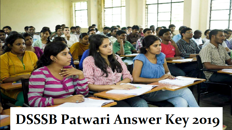 DSSSB Patwari Answer Key 2019, DSSSB Patwari Answer Key, dsssb answer key 86/17, dsssb answer key, dsssb answer key 2019