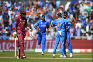 India vs West Indies Live cricket score