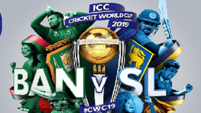Bangladesh vs Sri Lanka ICC Cricket World Cup 2019. Photo Credit: Cricket World Cup Twitter