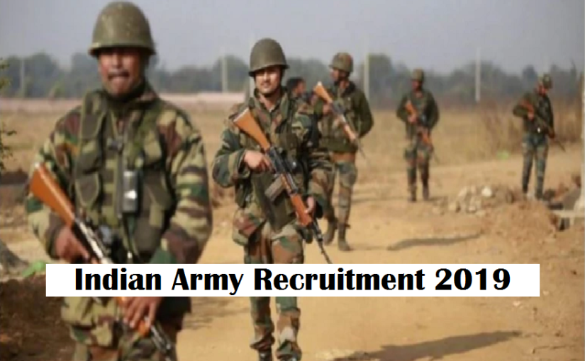 Indian Army Recruitment 2019: Application open for 189 posts @ joinindianarmy.nic.in, check details