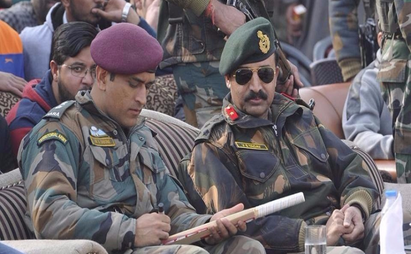 MS Dhoni to serve army regiment for next 2 months, tells BCCI not a part of  West Indies tour