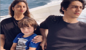 Gauri Khan shares an adorable picture of her kids Suhana Khan, Aryan Khan and AbRam from Maldives, see photo