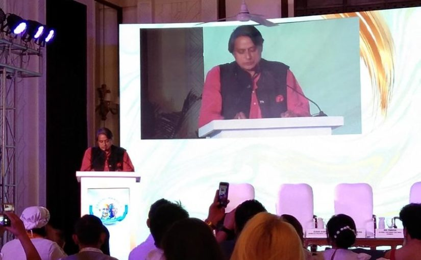 Congress MP Shashi Tharoor says more women should step out to make a difference