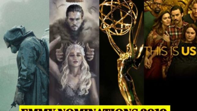 emmy nomiantions 2019