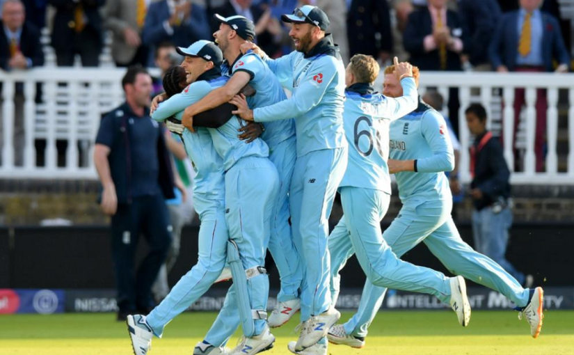 England wins ICC Cricket World Cup Finals, defeats New Zealand in Super Over