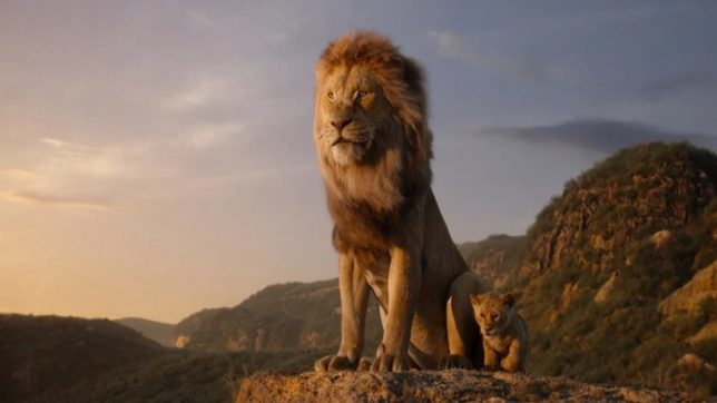 The Lion King official release