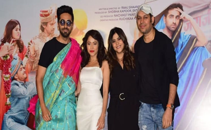 Ekta Kapoor on Ayushmann Khurrana in and as Dream Girl: It takes a very talented man to play a woman onscreen