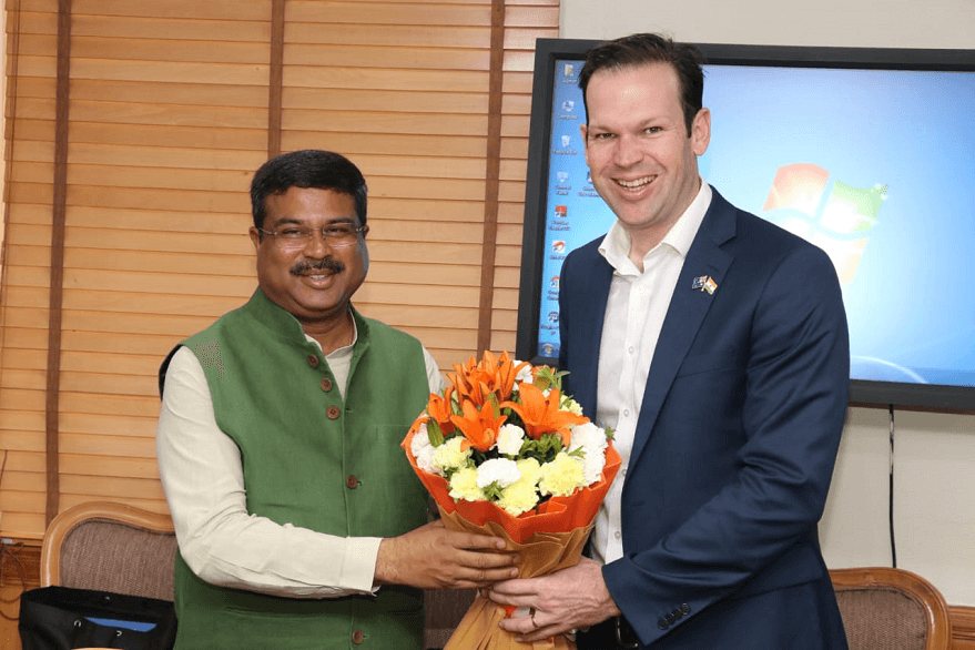 Union Minister Dharmendra Pradhan meets Australian minister , discusses energy cooperation