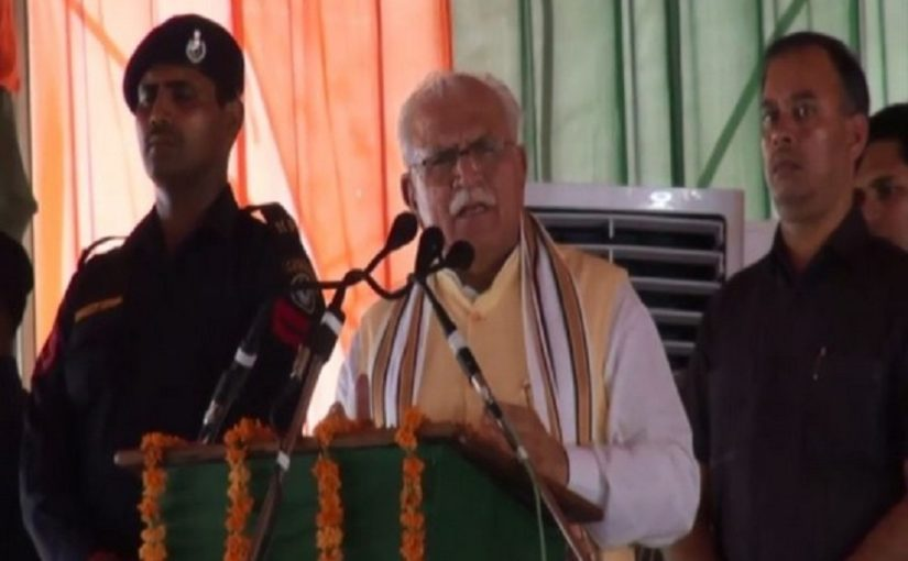 Haryana CM Manohar Lal Khattar speaks of bringing Kashmiri girls for marriage, sparks controversy