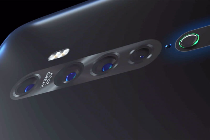 The Oppo Reno 2 smartphone is equipped with shark fin rising selfie camera mechanism.