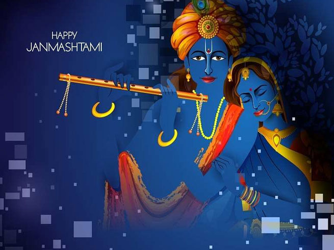 Happy Janmashtami 2019 Wishes, Quotes, Messages Images for Facebook & Whatsapp Status