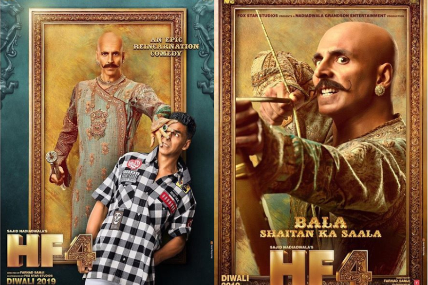 Makers introduce Akshay Kumar's dual role as Harry and Bala