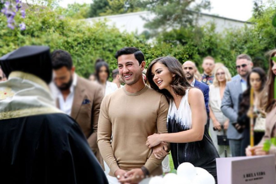 New parents Amy Jackson, George Panayiotou to get married in 2020 in Greece