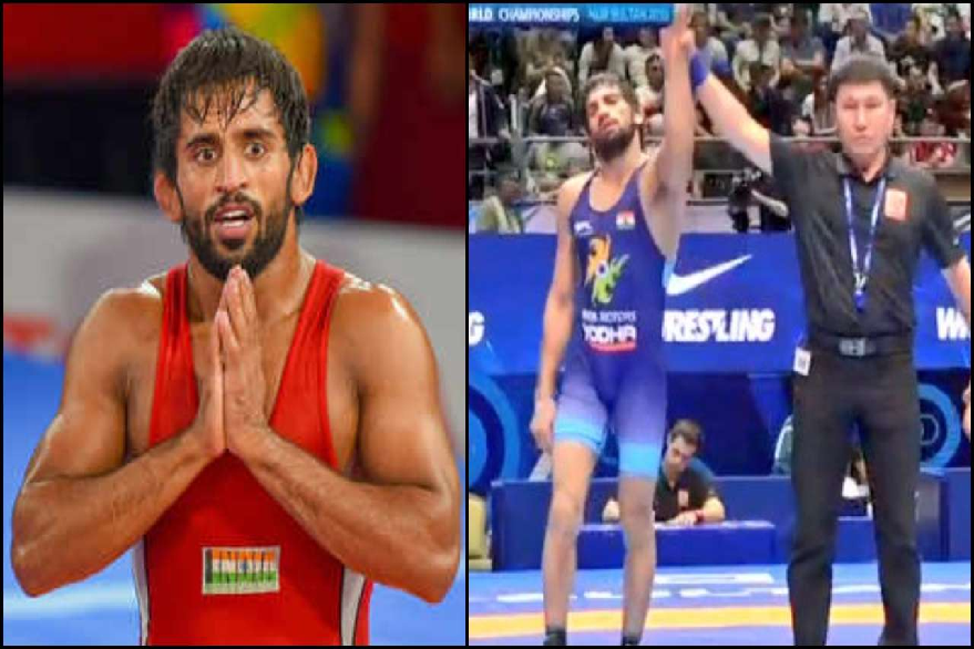 Bajrang Punia and Ravi Kumar