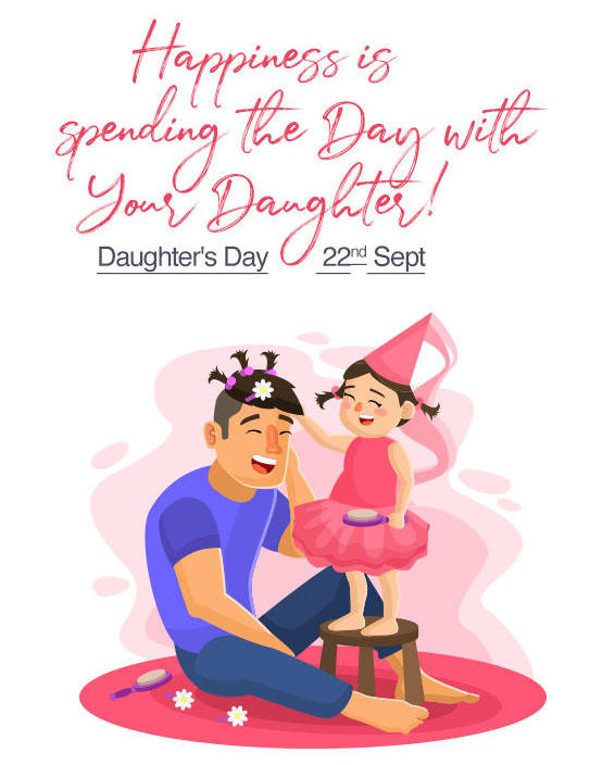 Happy Daughters' Day 2019 Wishes, Quotes, Messages in ...