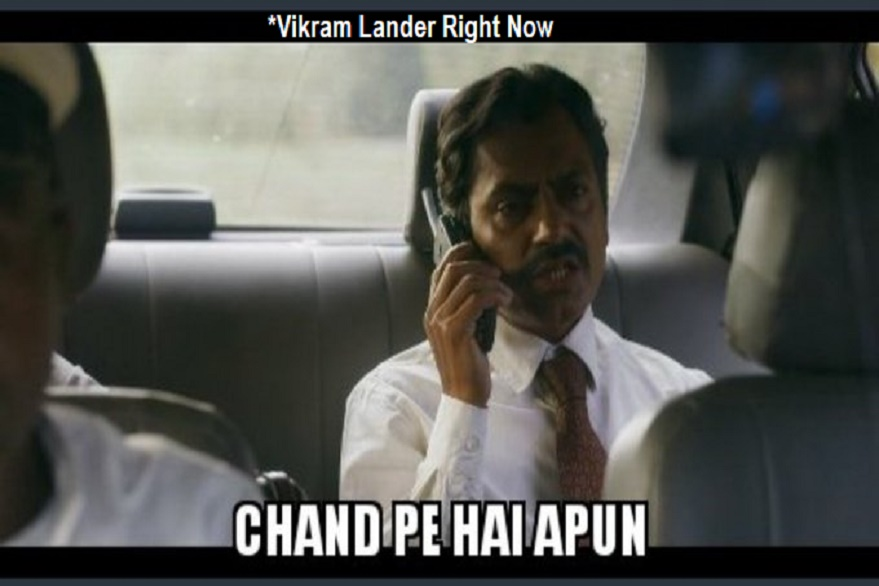 The joy of Vikram Lander Found results in creative memes on social media