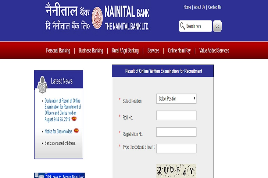 Nainital Bank PO, SO and Clerk Result 2019 out, know how apply @ nainitalbank.co.in