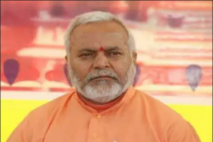 File photo of BJP leader Swami Chinmayanand.