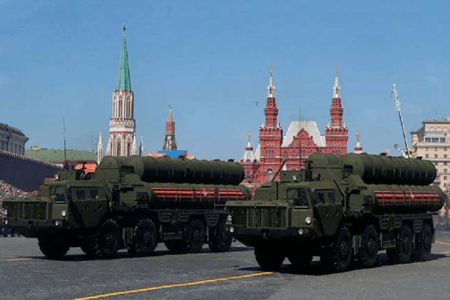 S-400 air defence missile systems
