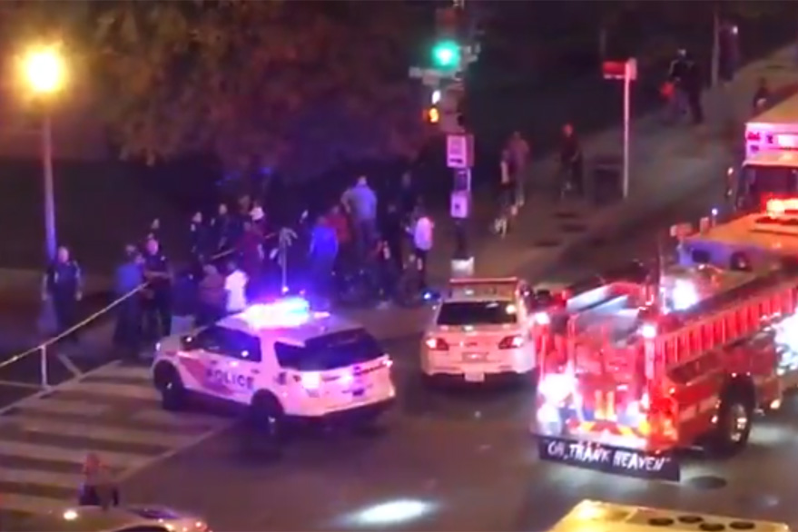 Washington DC shooting: Four to six people were injured in the incident.