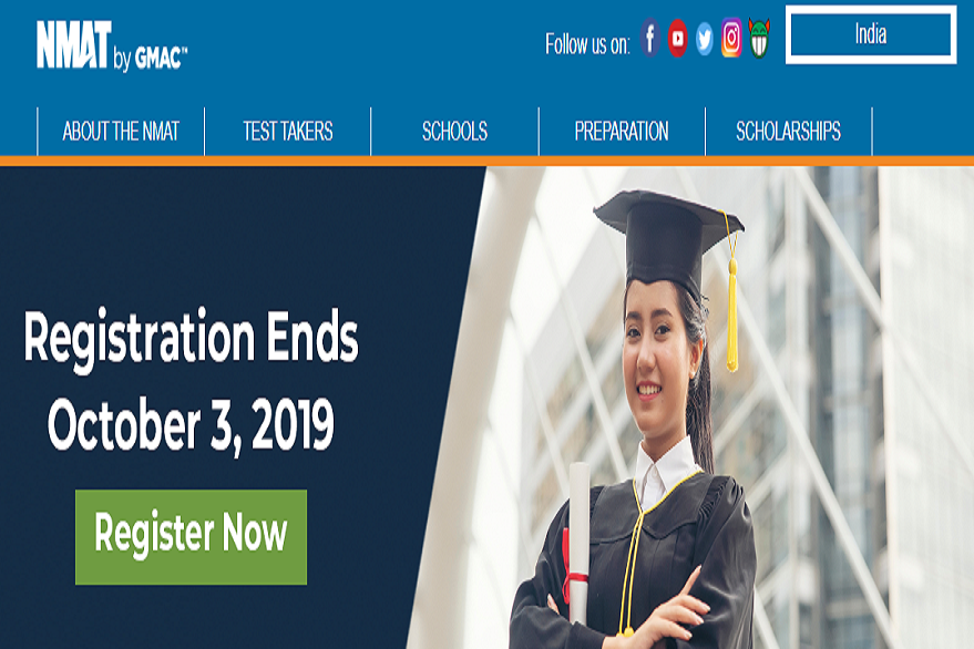 GMAC NMAT 2019: Last date to apply online @ nmat.org.in ends today, check steps to apply here