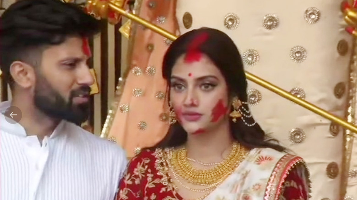 Nusrat Jahan was in the news after she married Nikhil Jain, a non-Muslim businessman, in June 2019.