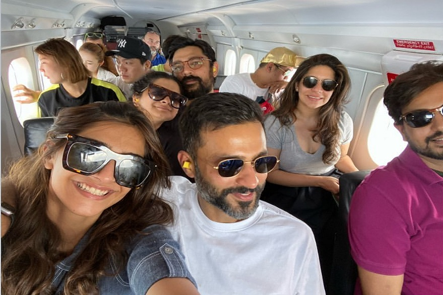 Sonam Kapoor, Anand Ahuja share pictures from their family vacation, see photos
